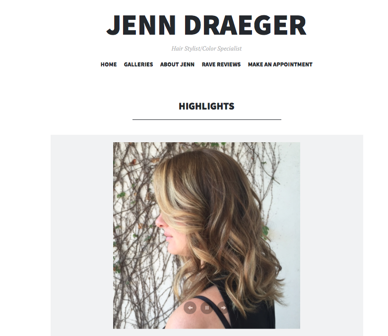 Jenn D Style Website